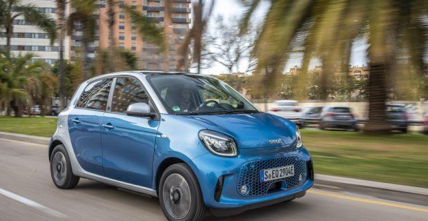 Smart EQ Forfour Elektro Kleinwagen