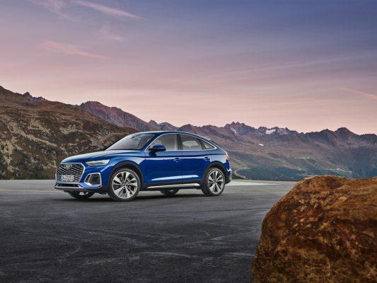 Audi Q5 Sportback: Schicker Rücken