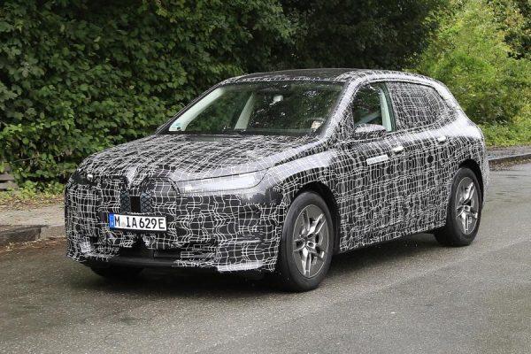 BMW iNext Erlkönig in München gesehen