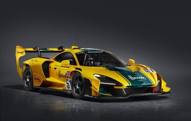 McLaren Senna GTR LM ehren die Le-Mans-Legenden
