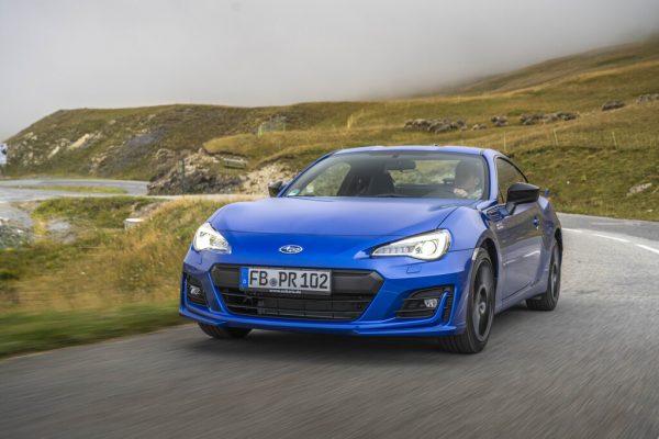 Subaru BRZ feiert Abschied mit blauen Akzenten