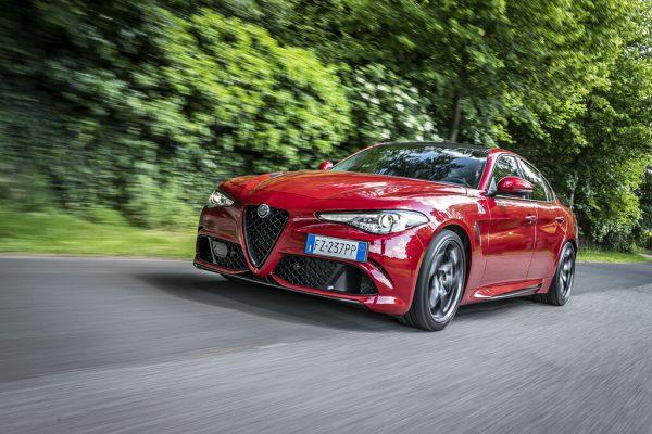 Alfa Romeo Giulia Quadrifoglio: Pures Adrenalin