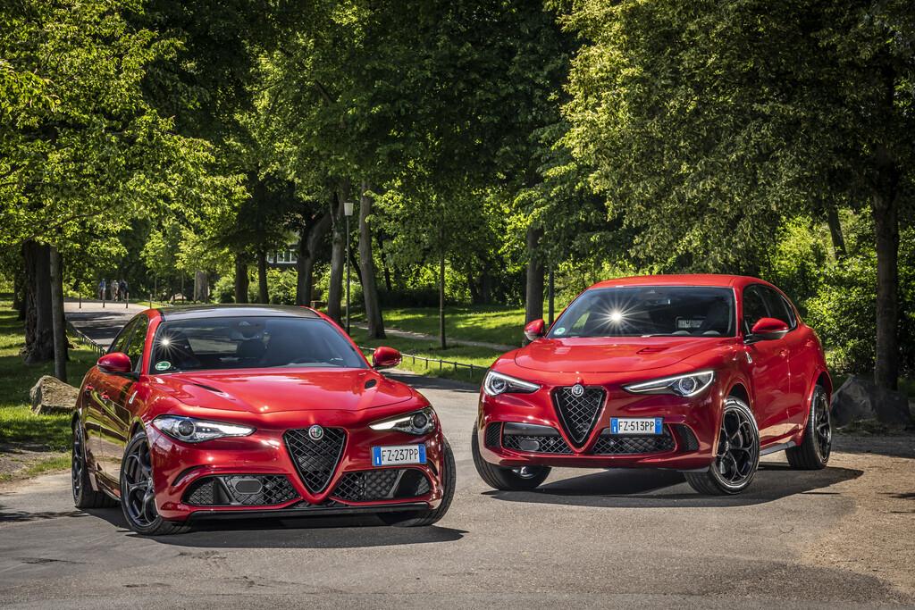 Alfa Romeo Giulia und Stelvio Quadrifoglio