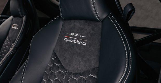 Audi TT RS 40 Jahre Quattro.