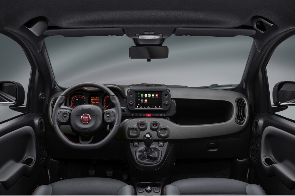 Fiat Panda Sport.