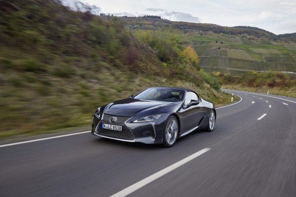 Lexus LC 500 Cabriolet: Der Sommer kann kommen