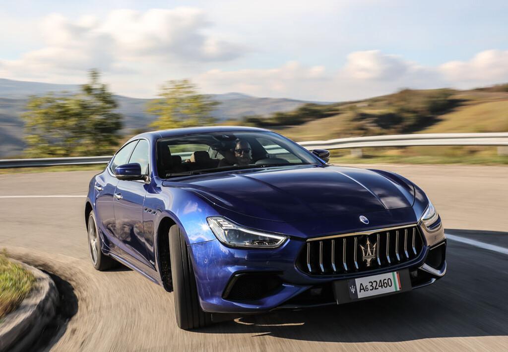 Maserati Ghibli Hybrid.