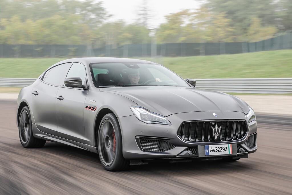 Maserati Quattroporte Trofeo.