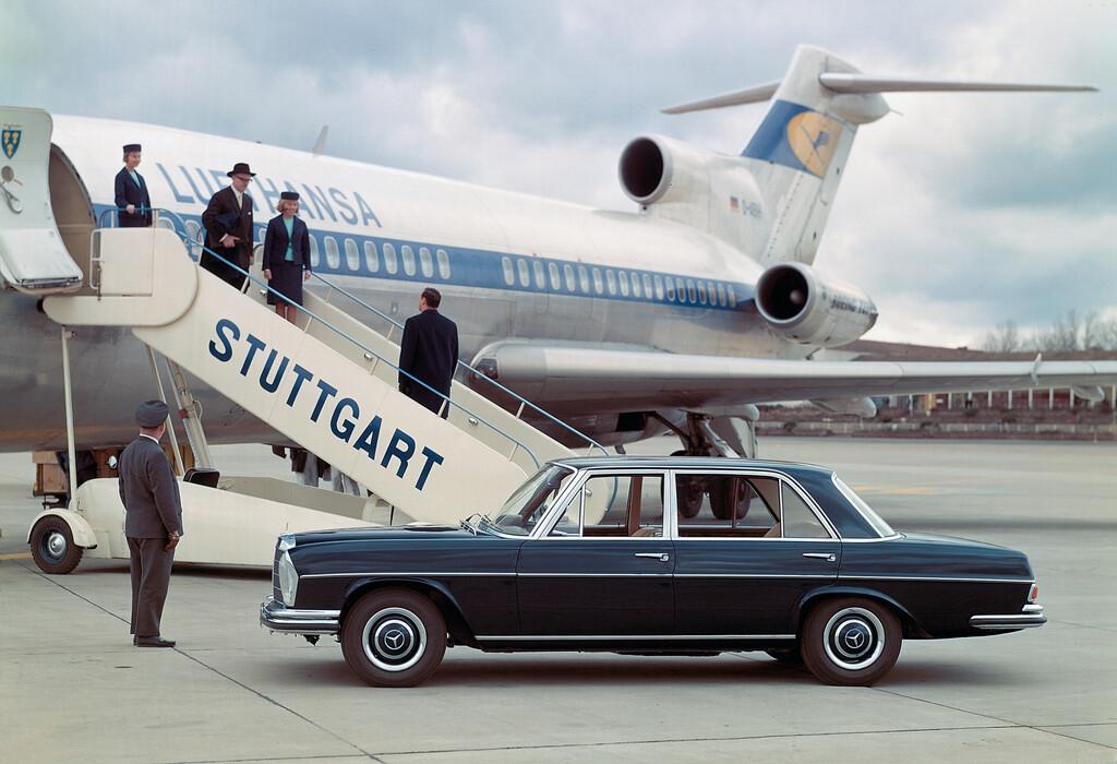 "Mercedes-Benz ""Heckflosse"" (1959–1965)."