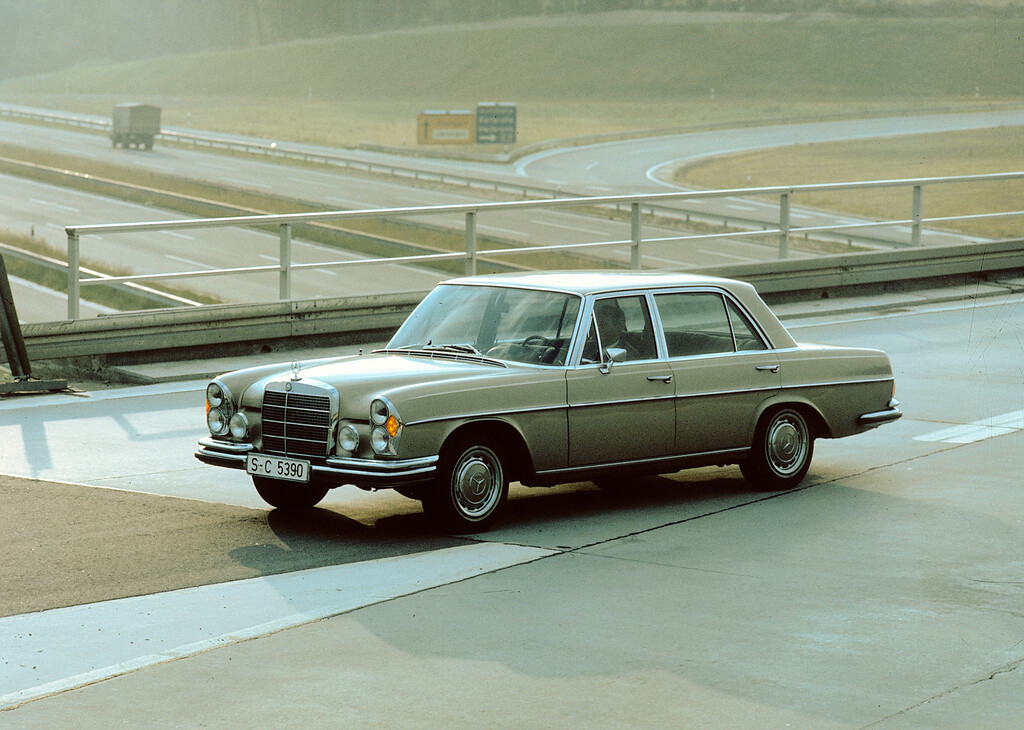 Mercedes-Benz, Baureihe W 108/109 (1965–1972).
