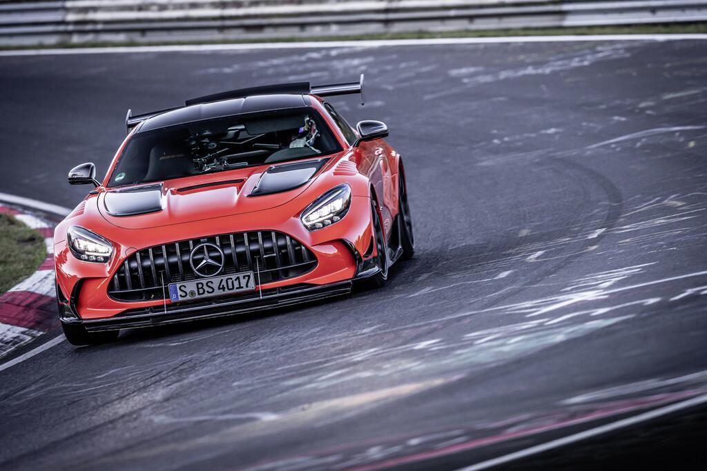 Mercedes-AMG GT Black Series auf der Nürburgring-