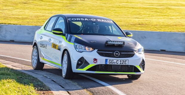 "Opel Corsa-e Rally ist ""ready to race"""