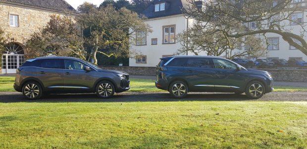 Peugeot 3008 und 5008.