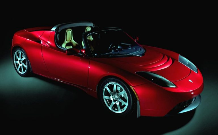 Tesla Roadster Coupé
