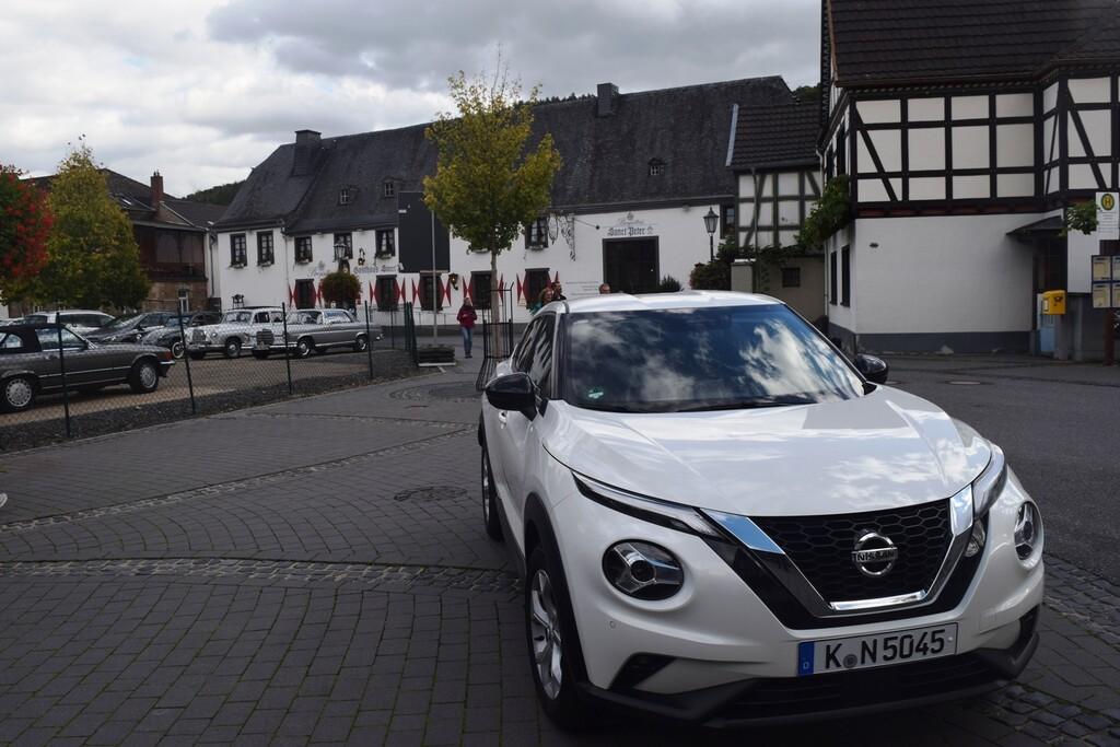 Unterwegs mit dem Nissan Juke
