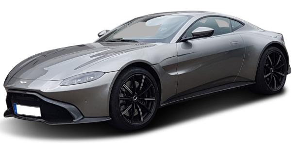 Aston Martin Vantage Silber