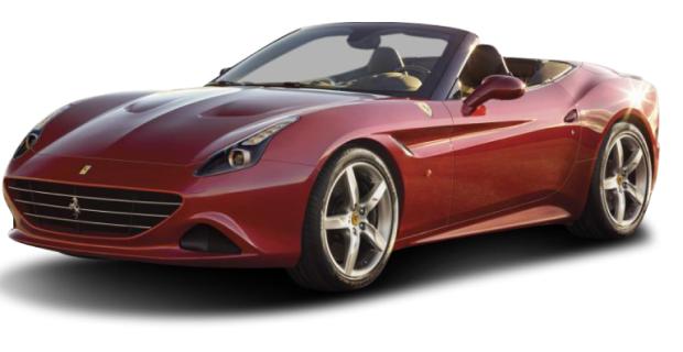 Ferrari California Rot