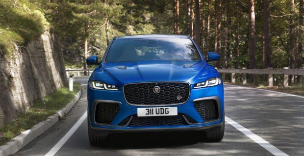 Jaguar F-Pace SVR noch ein bisschen schneller