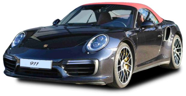 Porsche 911 991 Cabrio Schwarz