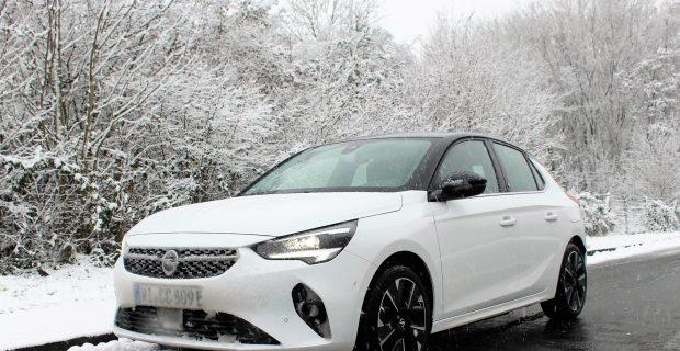 Das große Bibbern - Mit dem Opel e-Corsa durch den Winter