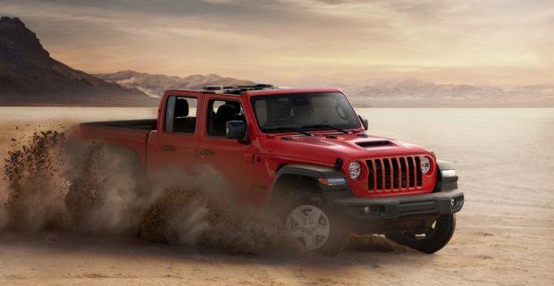 Der Jeep Gladiator startet bei 60.500 Euro