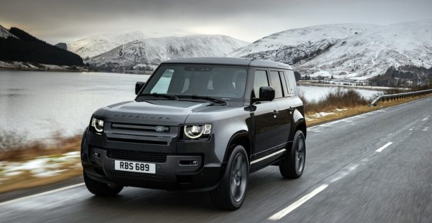 Der Land Rover Defender bekommt den V8-Kompressormotor