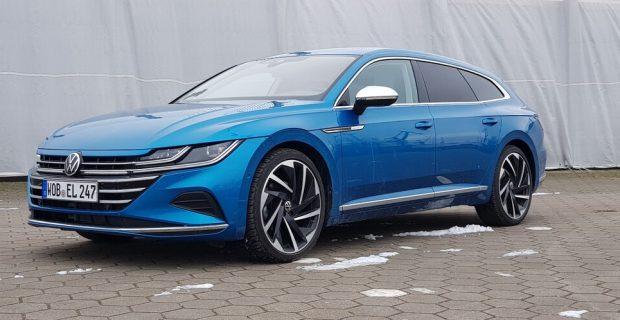 Fahrbericht VW Arteon Shooting Brake: Schrullige Karosse hübsch verpackt