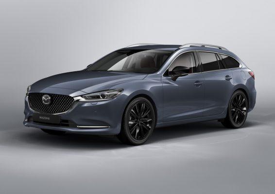 Sondermodell des Mazda 6 Kombi mit burgundroter Lederausstattung
