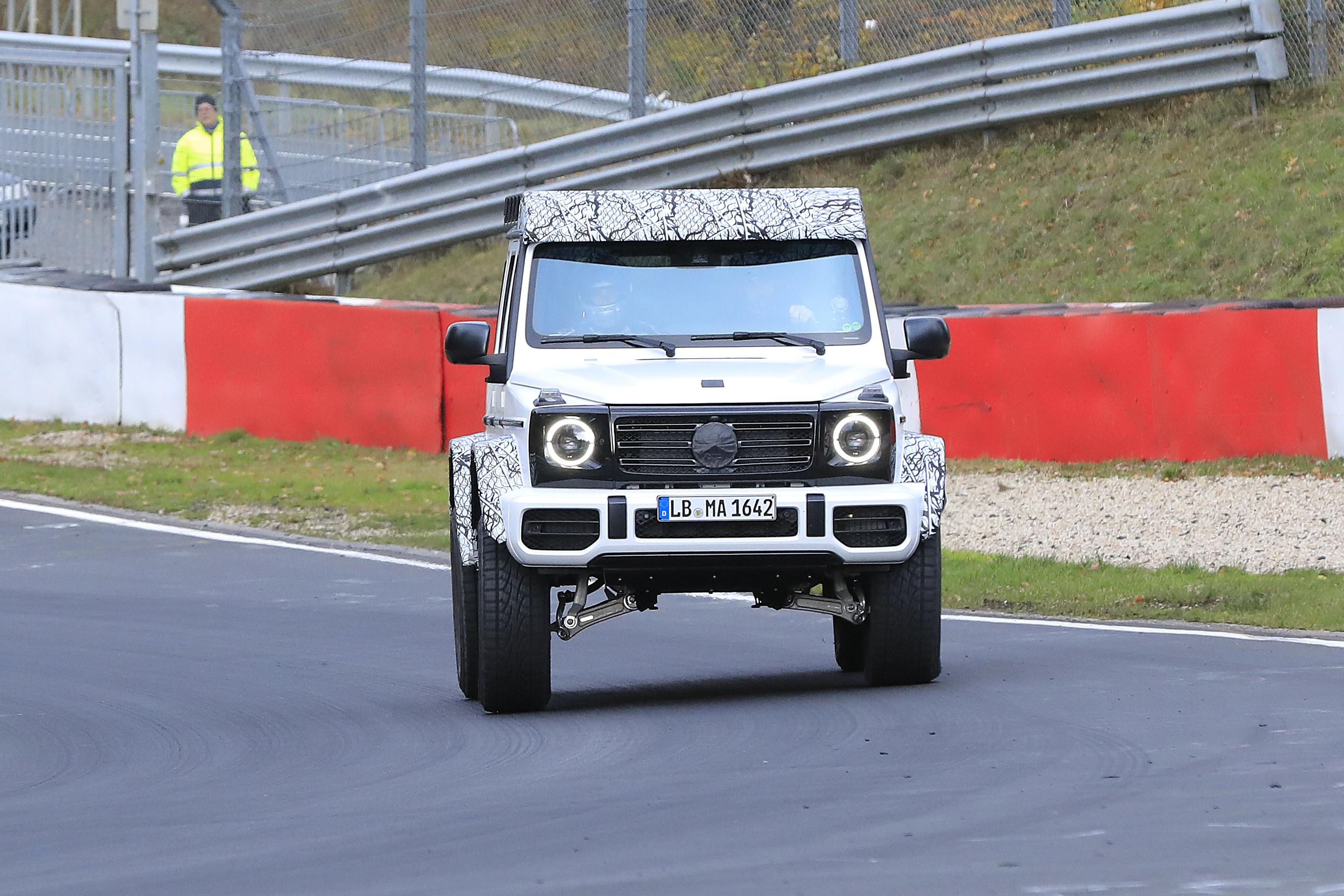 mercedes-benz g-klasse 4x4 facelift