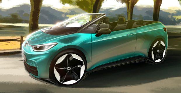 """Gedankenspiele bei VW: Kommt der ID 3 """"oben ohne""""?"""