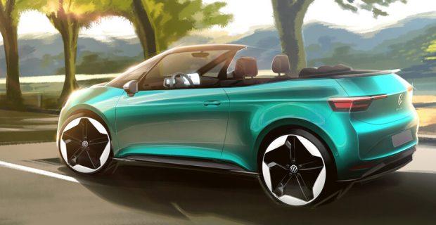 VW ID 3 Cabrio (Designskizze)