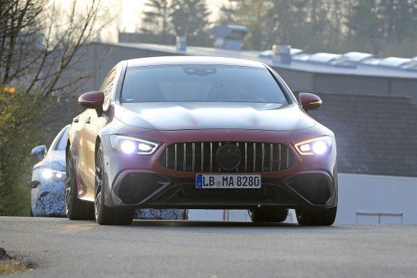 Fotos vom Mercedes-AMG GT 4-Türer Facelift