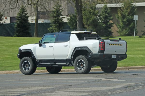GMC Hummer EV entdeckt