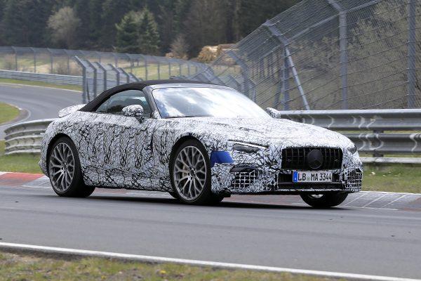 Neuer Mercedes-Benz SL wird getestet