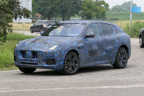 Maskierter Maserati Grecale gesichtet