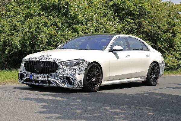 Mercedes-Benz S-Klasse S63 AMG abfotografiert