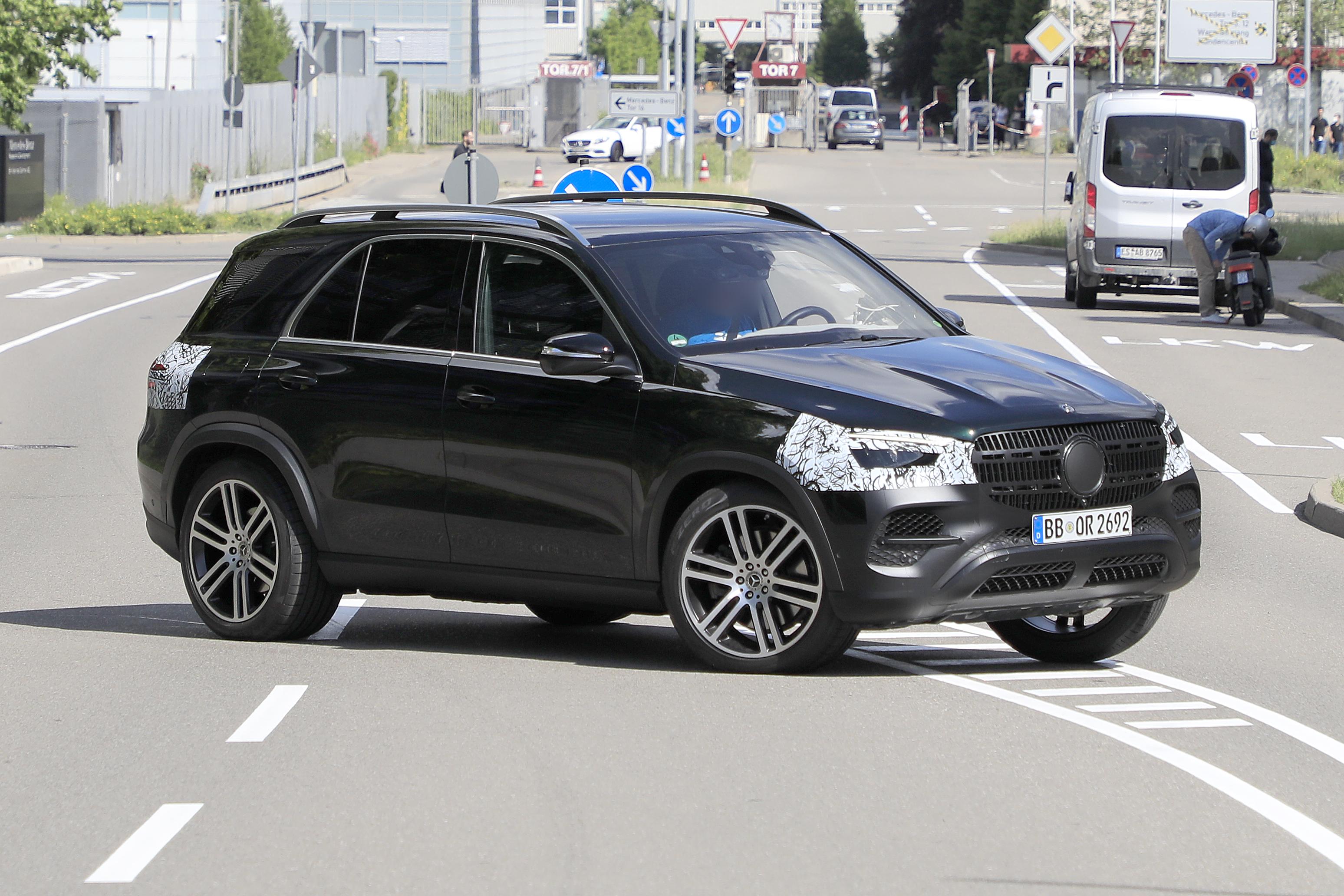 Mercedes GLE Facelift