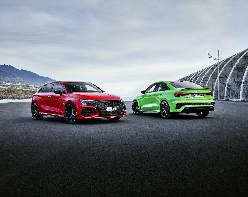 Audi RS 3 Sportback und Limousine
