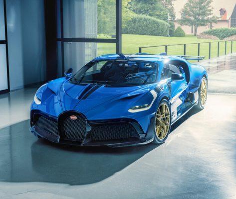 Der letzte Bugatti Divo 1 verlässt Molsheim