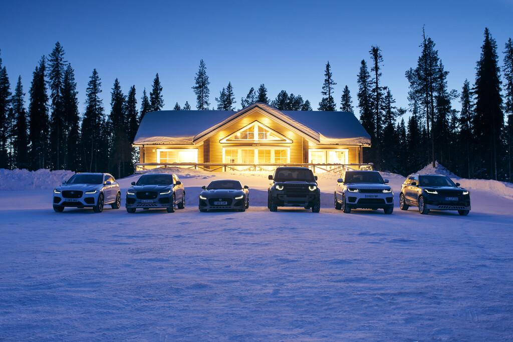 """Jaguar Land Rover Ice Academy""."