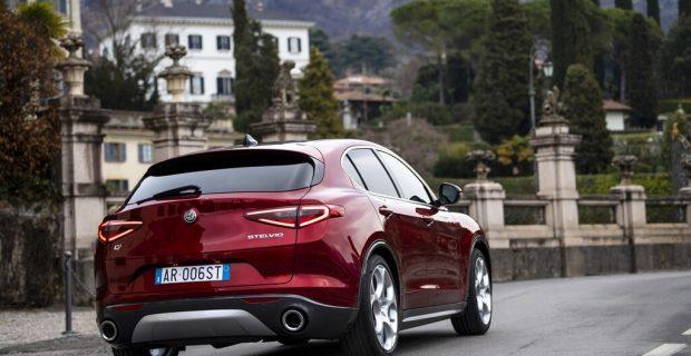 "Alfa Romeo Stelvio, Sondermodell ""6C Villa d'Este""."