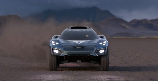 Cupra Tavascan Extreme E Concept.