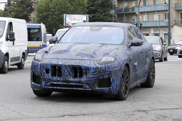 Maserati Grecale Trofeo fotografiert