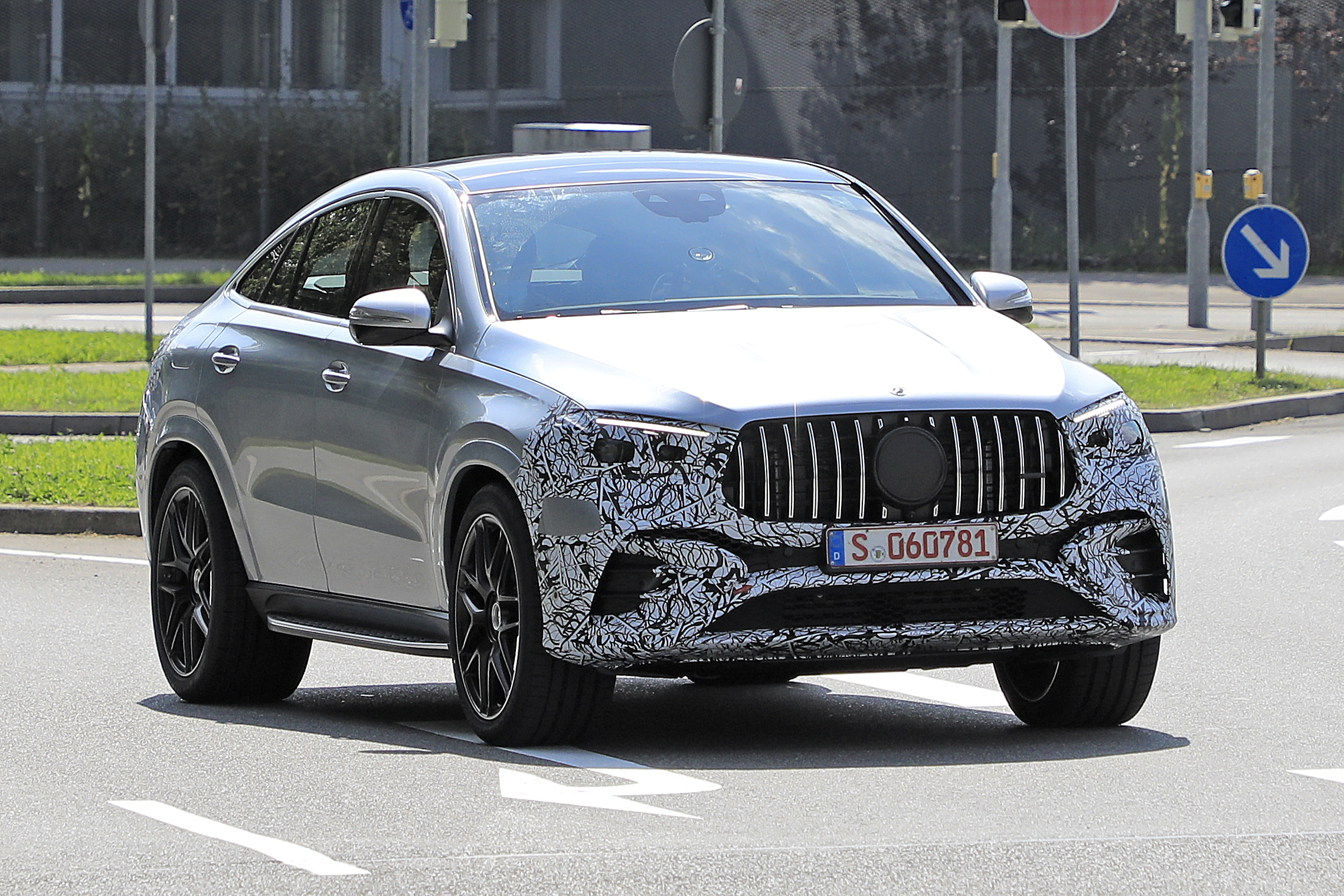 Mercedes GLE Coupe Facelift