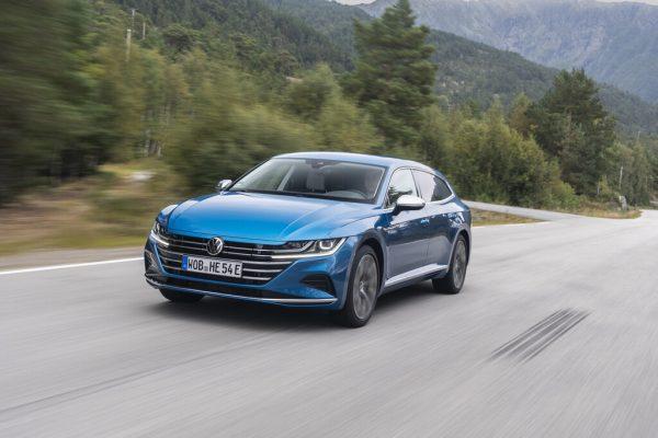 Fahrvorstellung VW Arteon Shooting Brake e-Hybrid: 1,1 Liter sind möglich