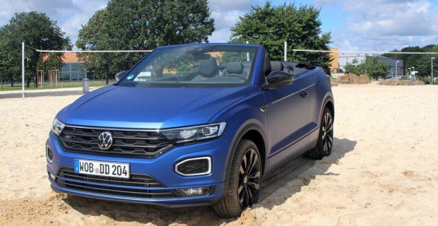 "VW T-Roc Cabriolet R-Line, Sondermodell ""Edition Blue""."