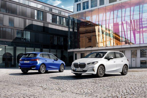 BMW 2er Active Tourer: Größere Niere und gebogenes Display