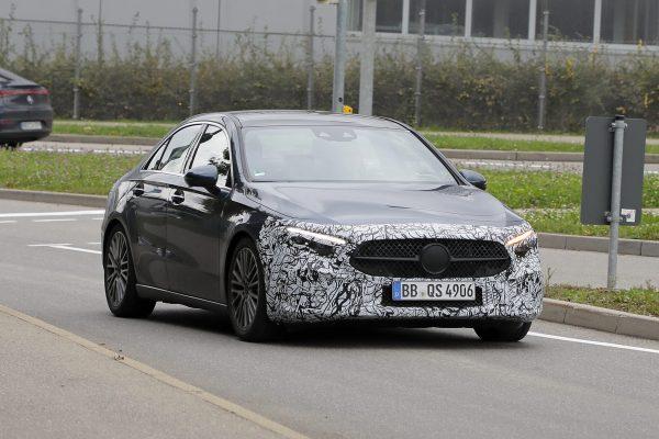 Aufgeschnappt: Mercedes A-Klasse Limousine Facelift