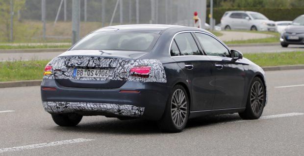 Mercedes A-Class Sedan Facelift